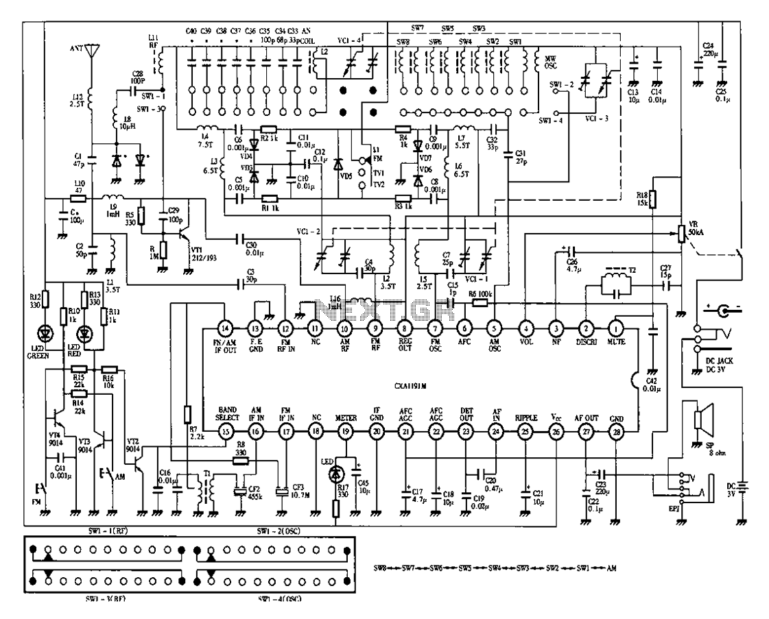Panasonic Tv Wiring Diagram