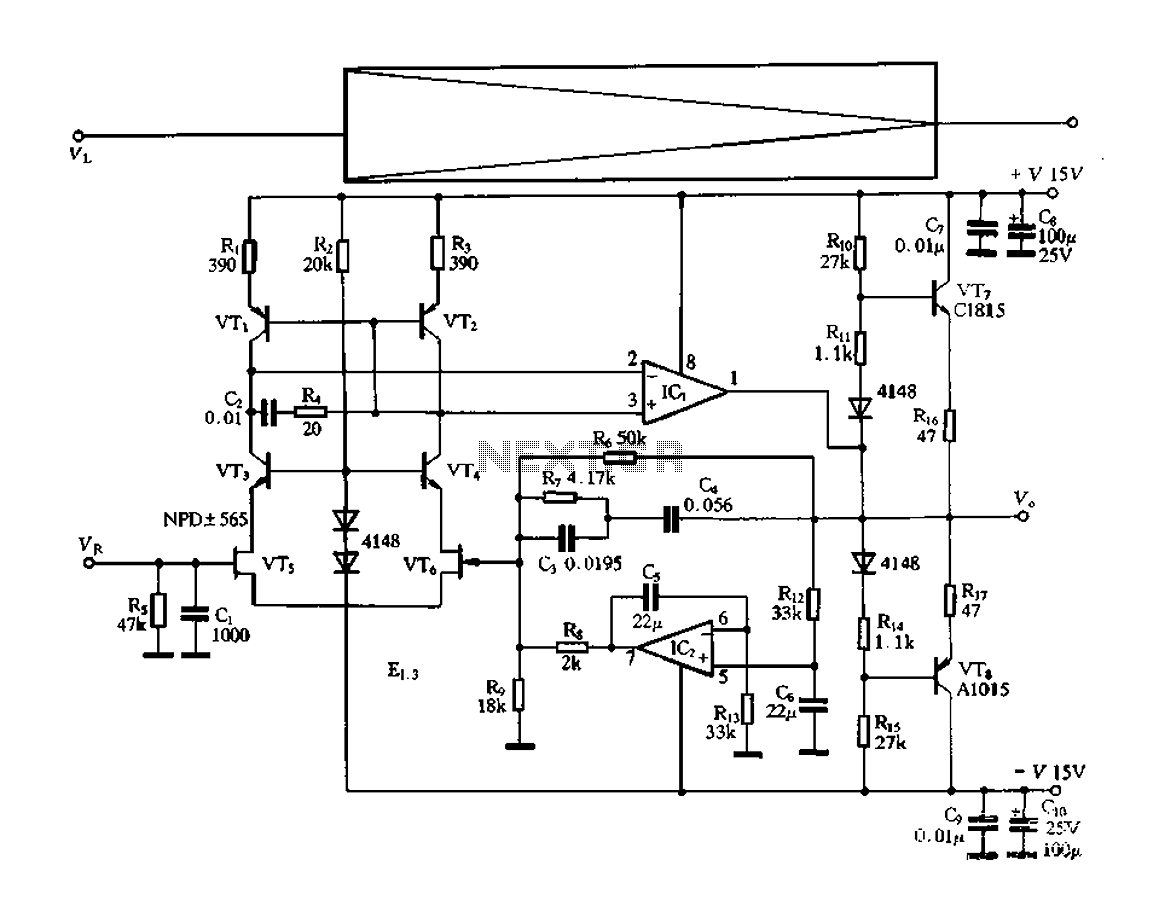 Electronic Switching Preamplifier Under Preamplifier