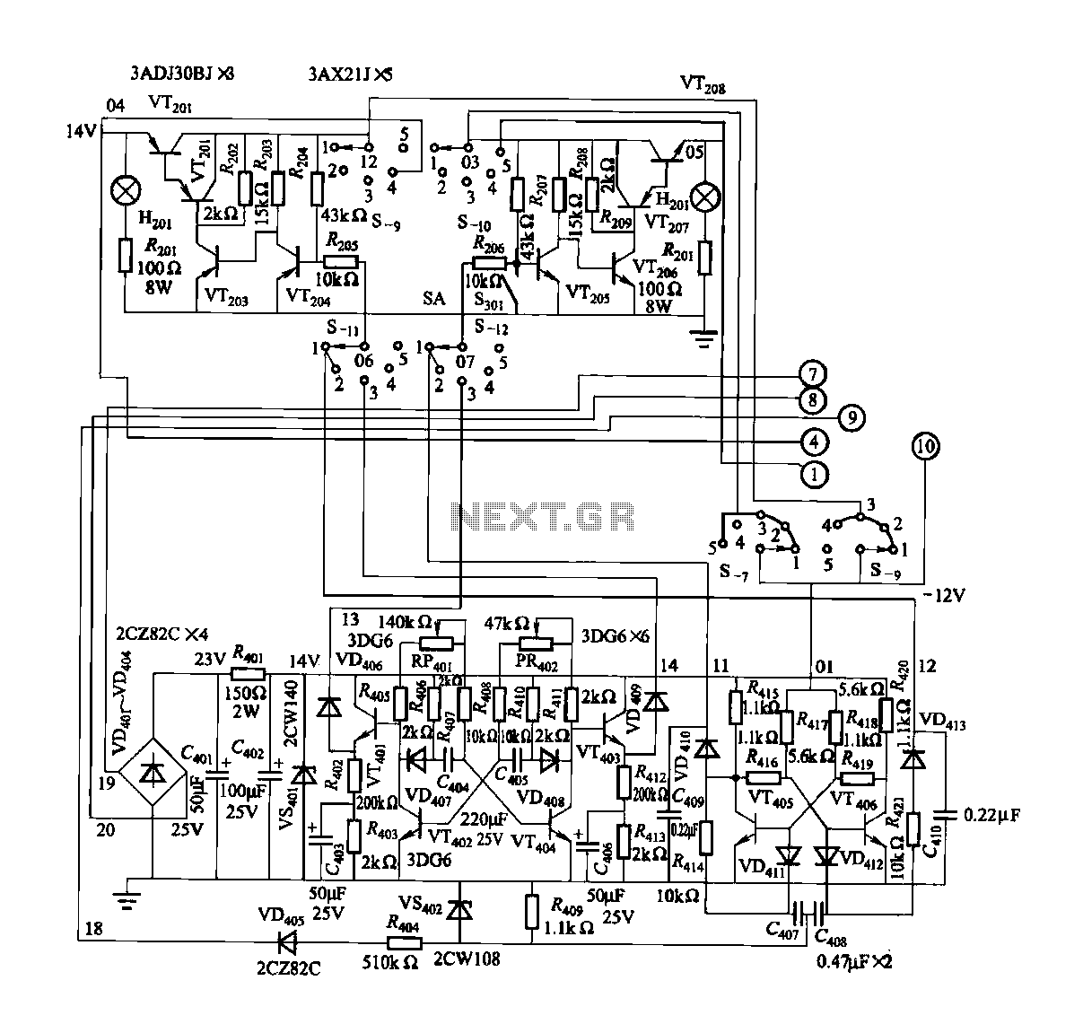 3 Phase Automatic Transfer Switch Diagram