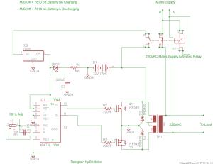 [WRG2570] 2000 W Inverter Circuit Diagram