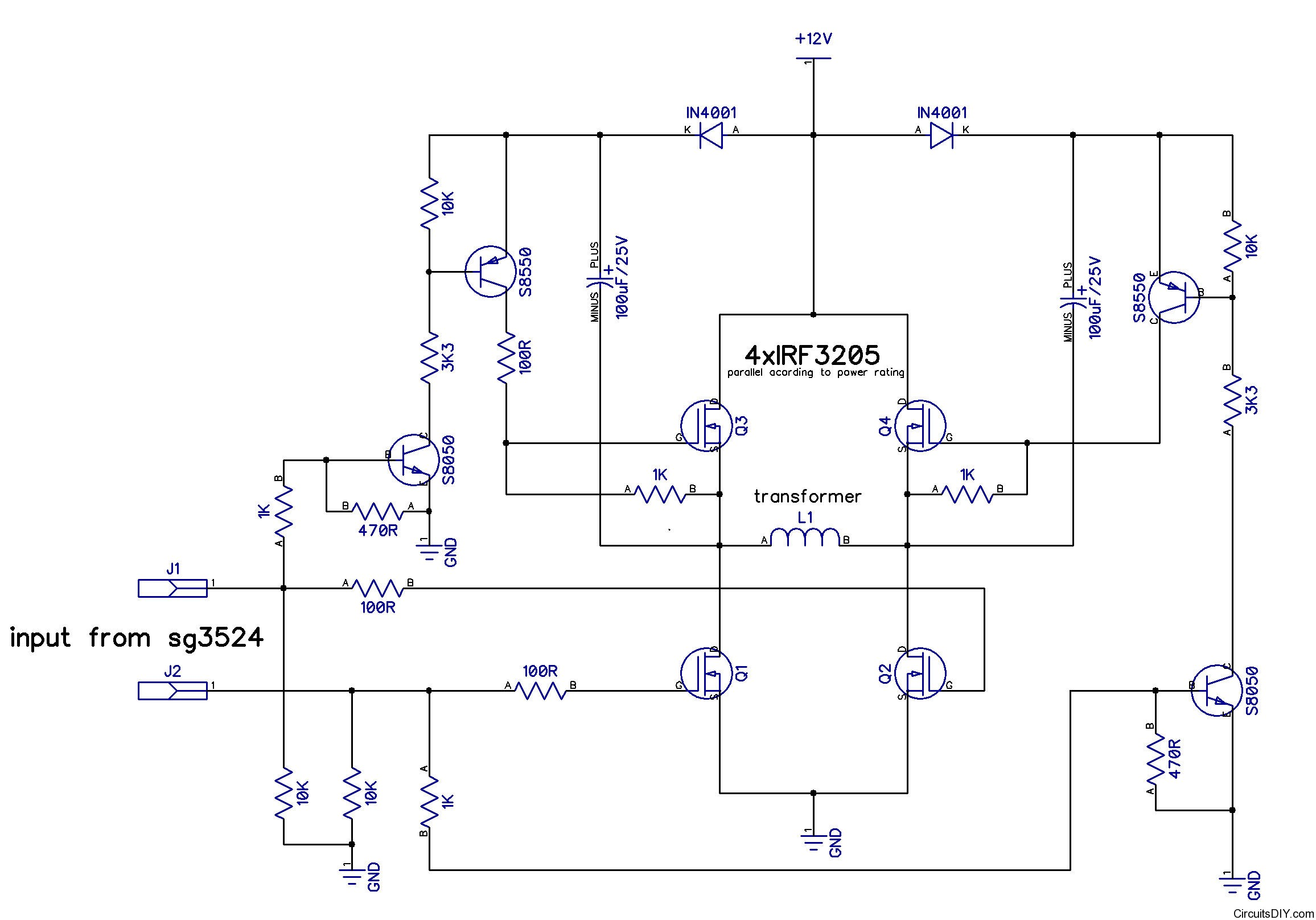 24vdc Power Supply Circuit Diagram 24 Vdc Schematic