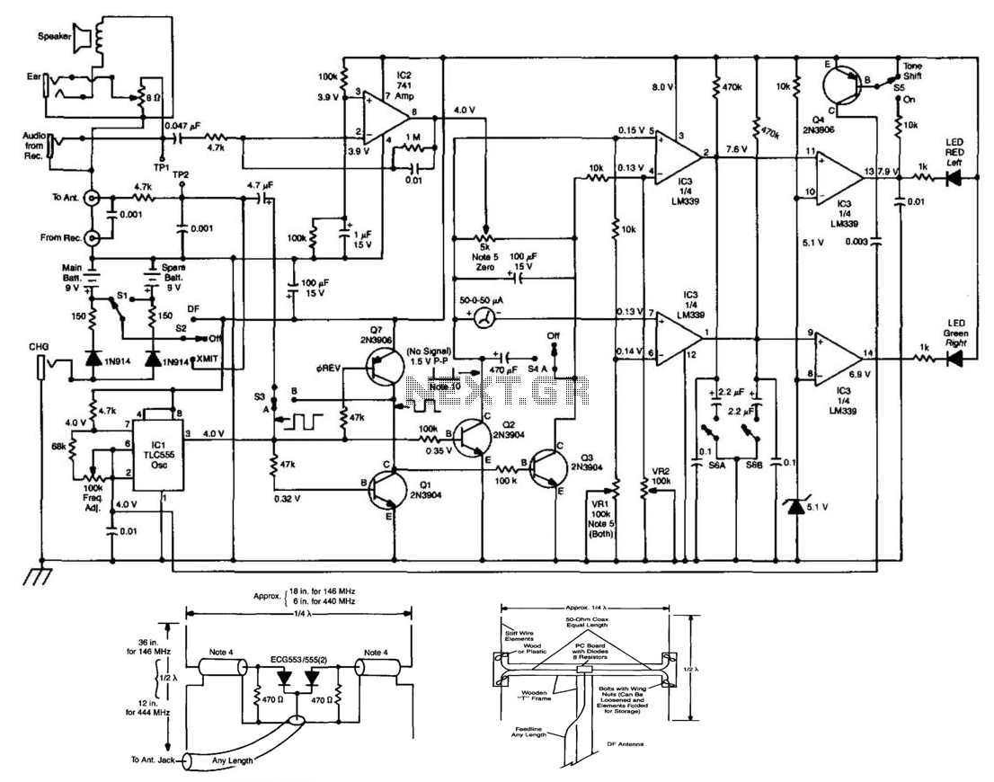 Op Amp Comparator Circuit Schematic