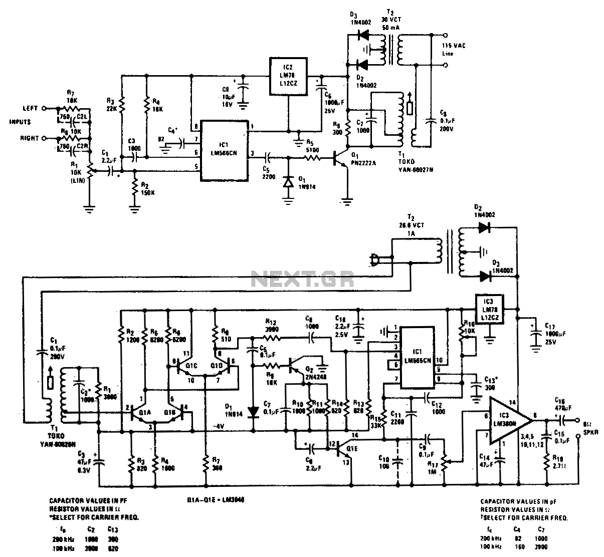 Fm Radio Receiver Schematic