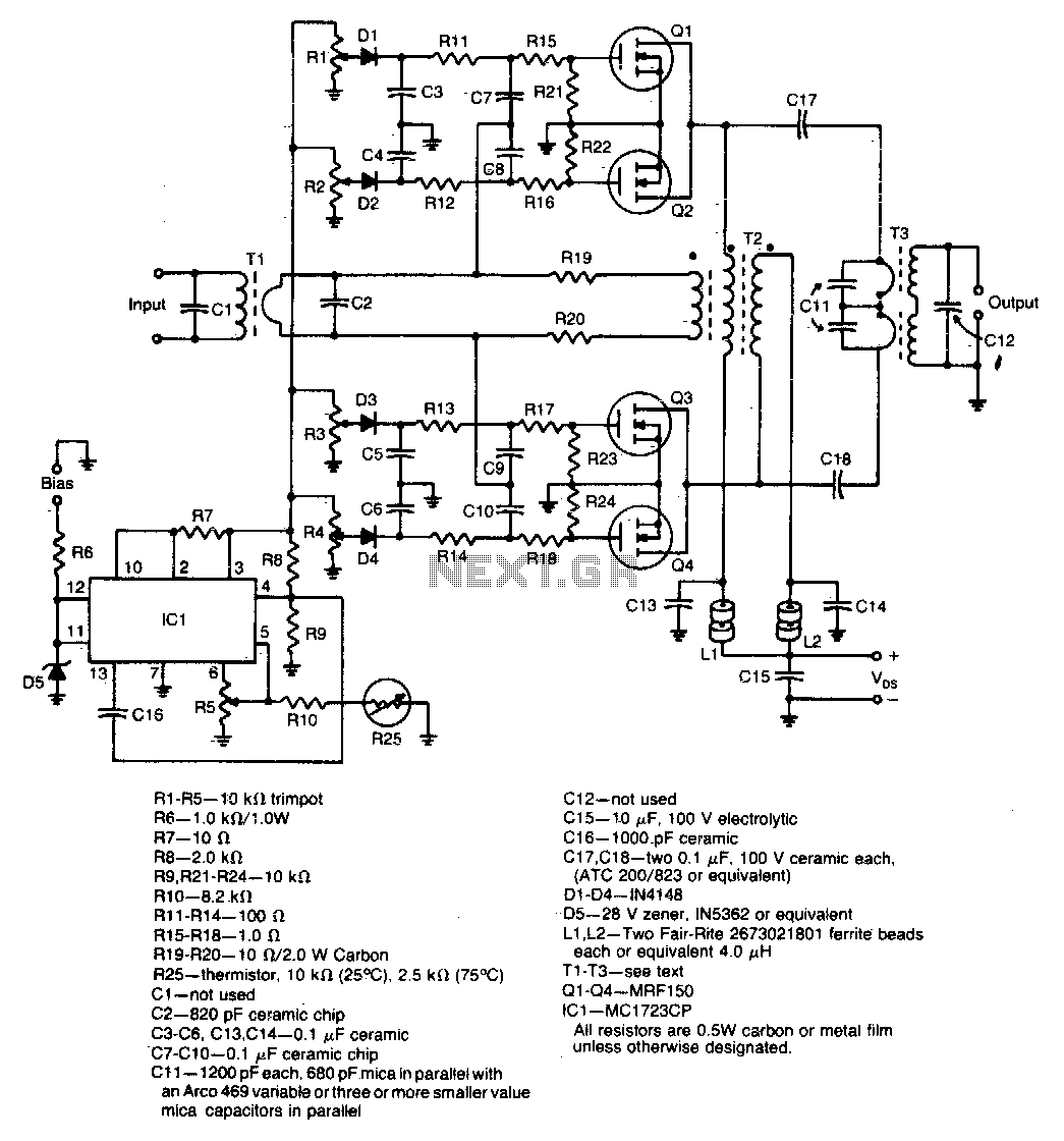 Fm Amplifier Schematic
