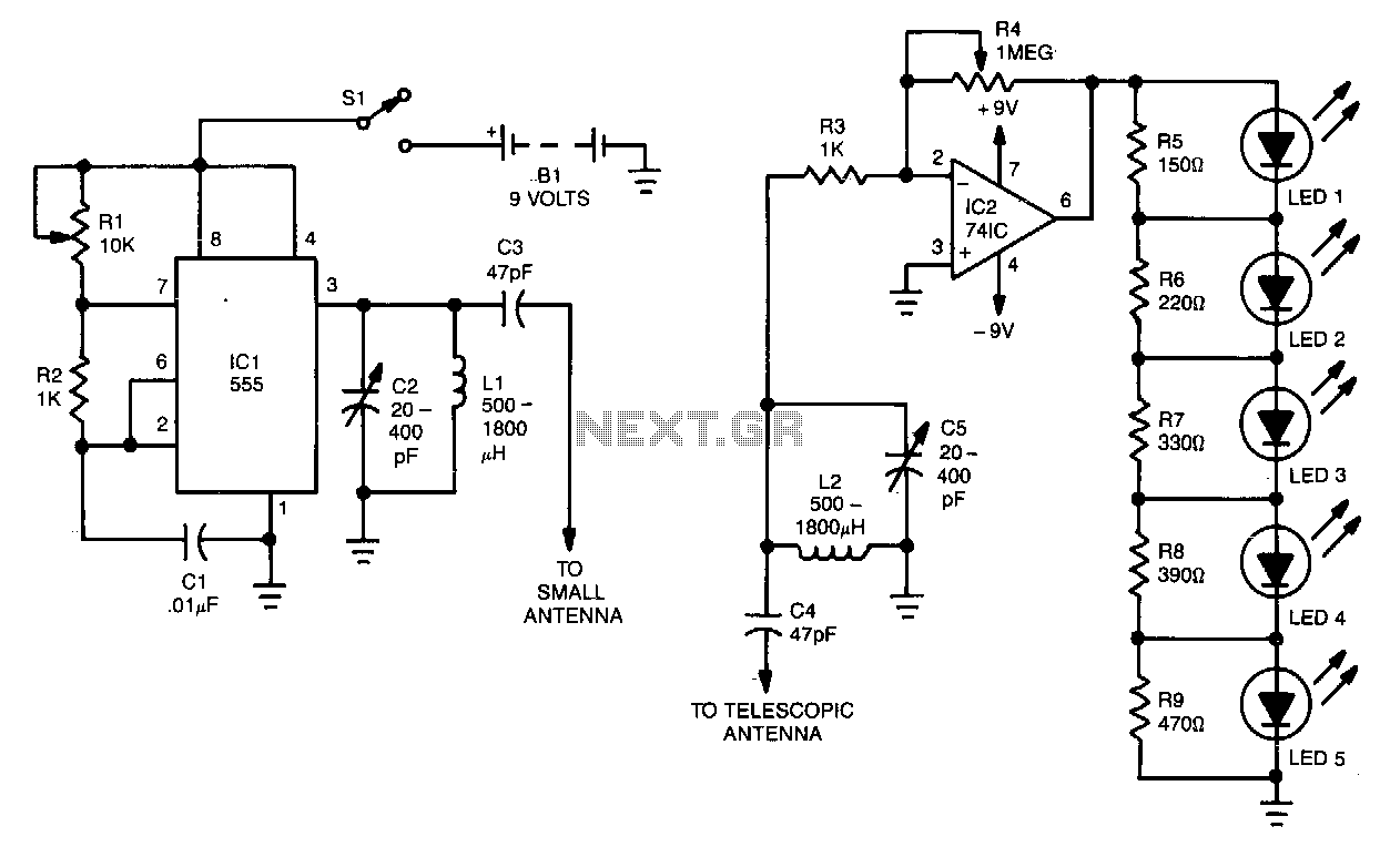 Crystalcontrolled Reflection Oscillator Circuit Diagram