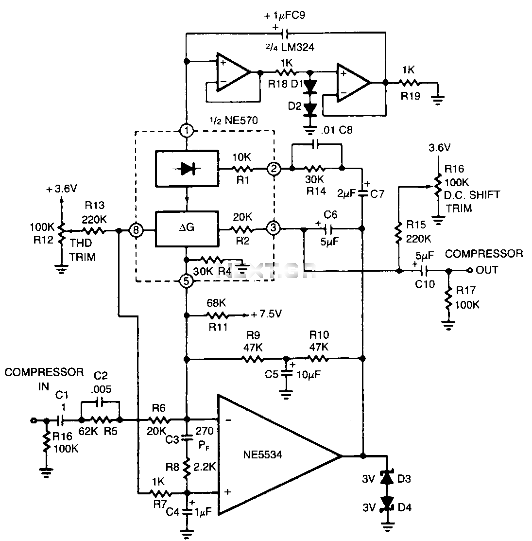 Audio Effect Circuit Page 3 Audio Circuits Next