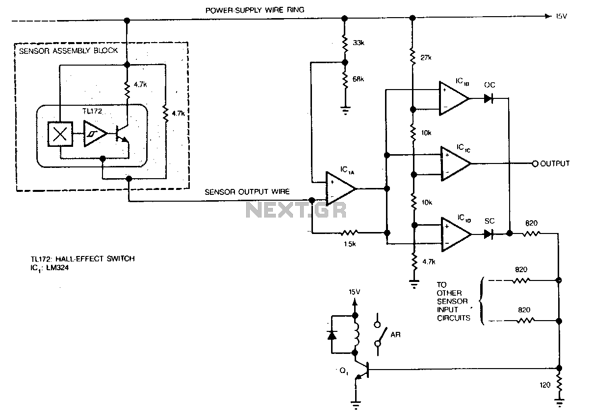 Hall Effect Switches Under Hall Effect Circuits