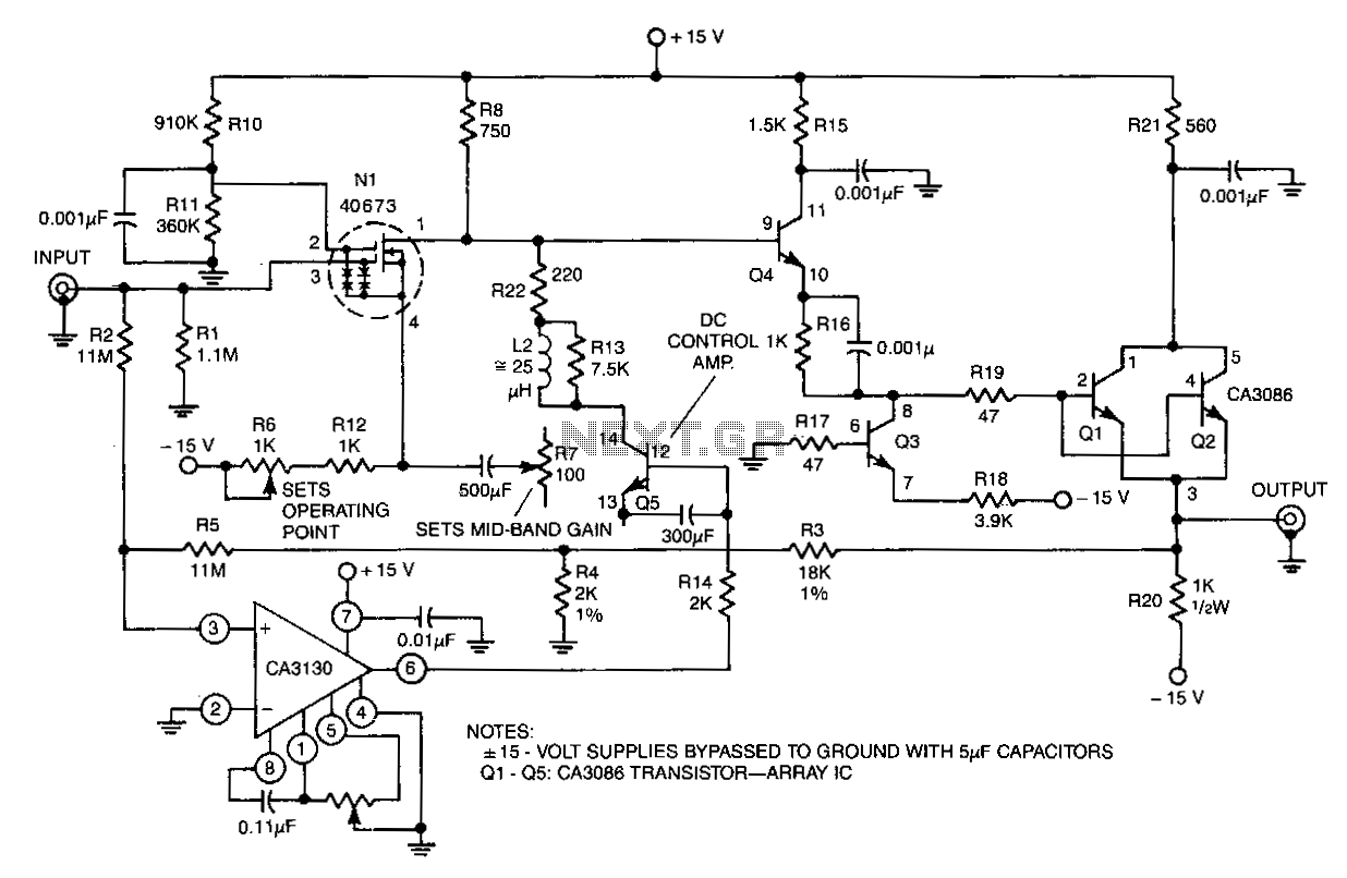 Wideband Instrumentation Amplifier Under Buffer Circuits