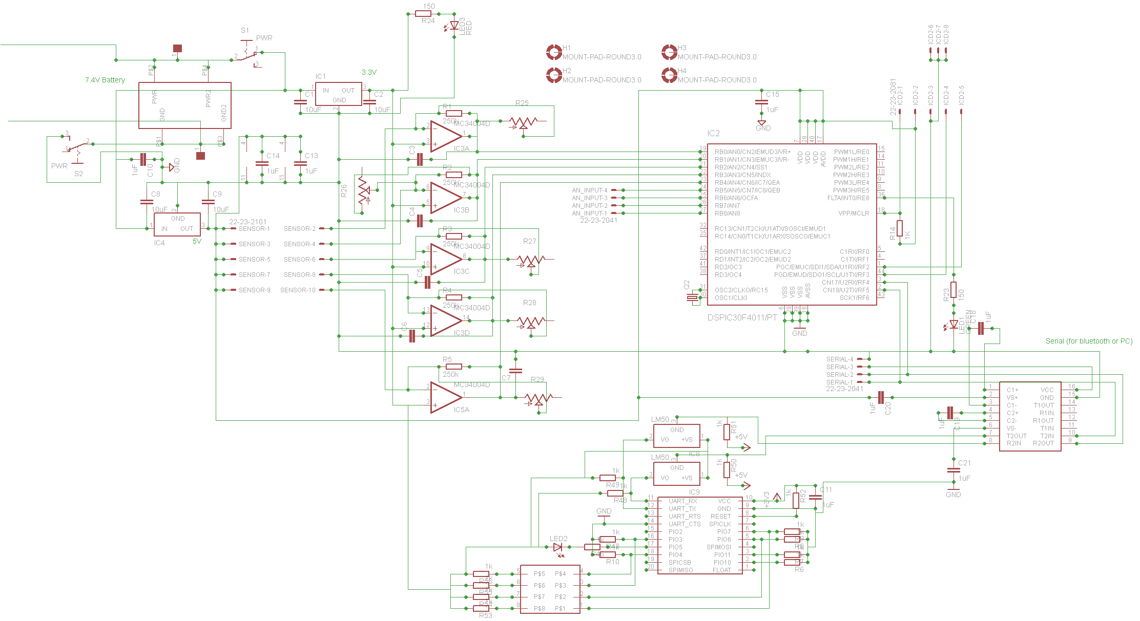 Pic Microcontroller Circuit Page 6 Microcontroller