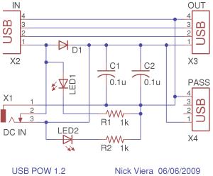 4 Port Usb Hub Circuit Diagram  Wiring Diagram and Schematic