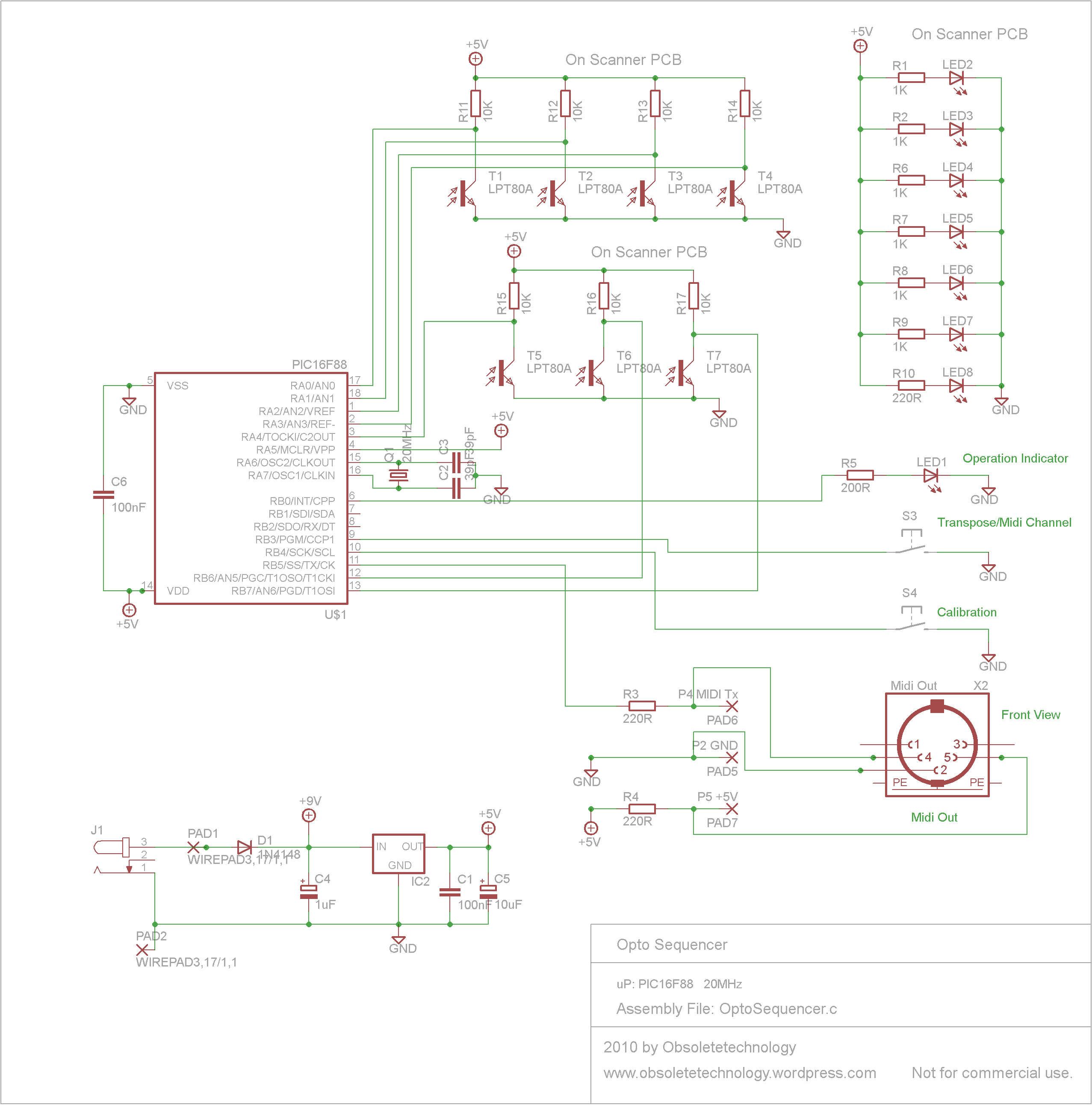 Sequencer Circuit Page 3 Other Circuits Next