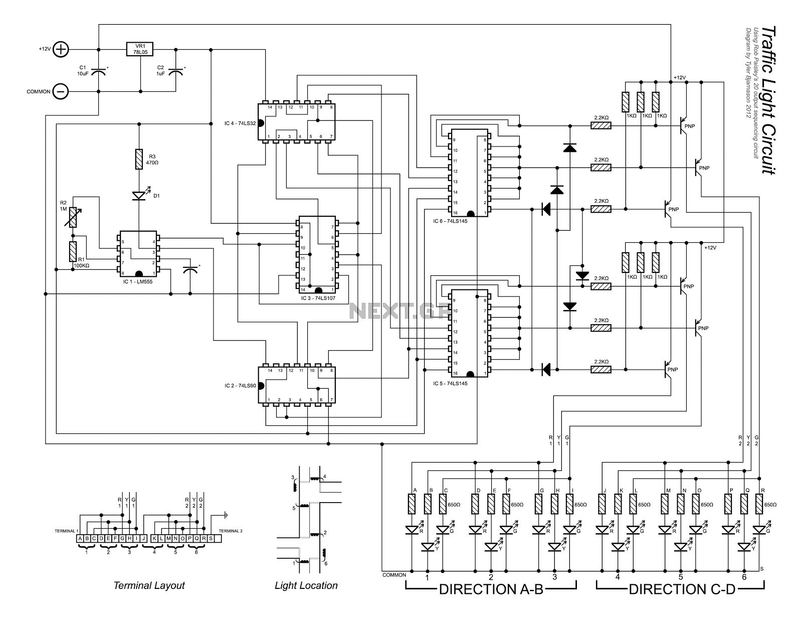 Lcd Led Display Circuit Page 5 Digital Circuits Next