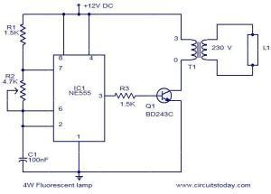 fluorescent circuit : Light Laser LED Circuits :: Nextgr