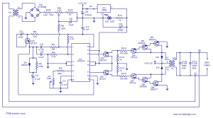 > circuits > PWM inverter circuit based on SG3524 12V input 220V output 250W l37208  Nextgr