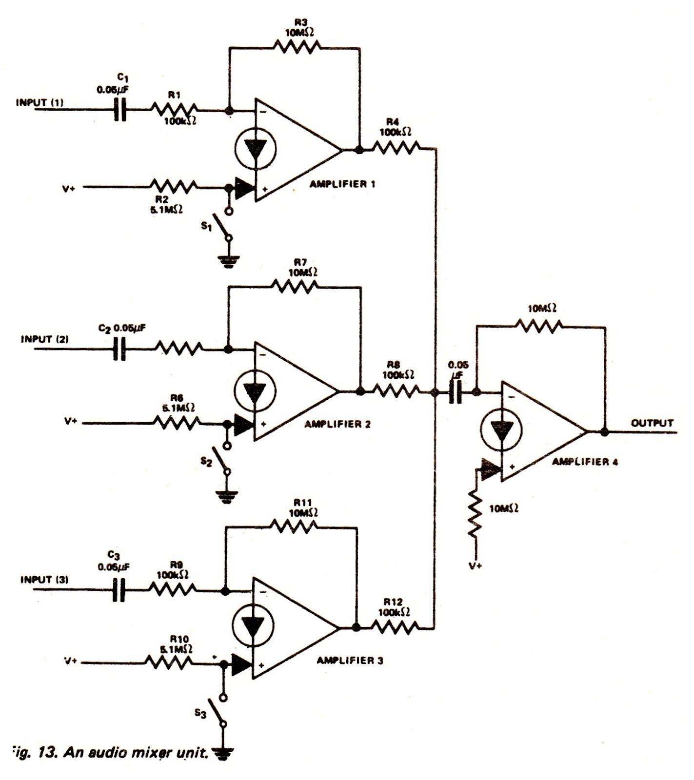 Audio Mixer Circuit Page 3 Audio Circuits Next