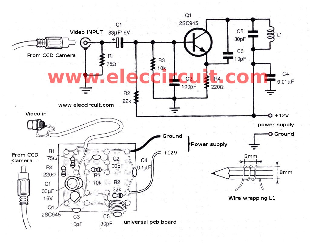 Simple Rf Amplifier Schematic