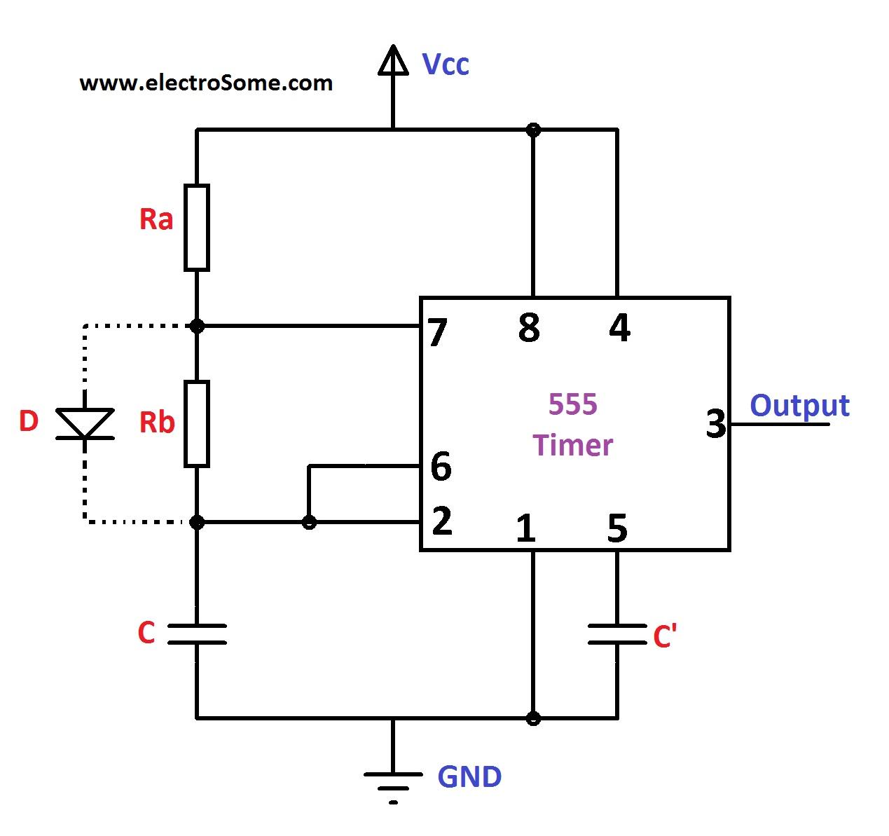 Basic Multivibrator Circuit Monostable