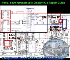 > circuits > 5800 Xpressmusic LCD Screen Display Problem