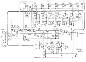 equalizer circuit : Audio Circuits :: Nextgr