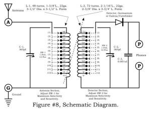 > circuits > Coupler Crystal Radio l48435  Nextgr