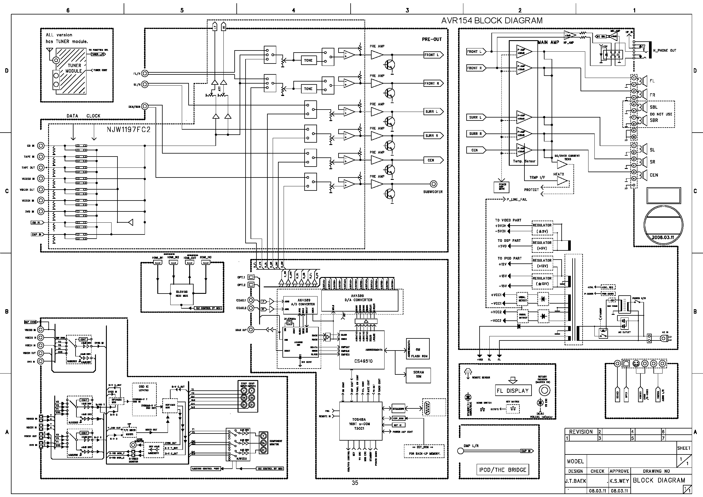 WRG-8765] W3500 Wiring Diagram For 2001 on
