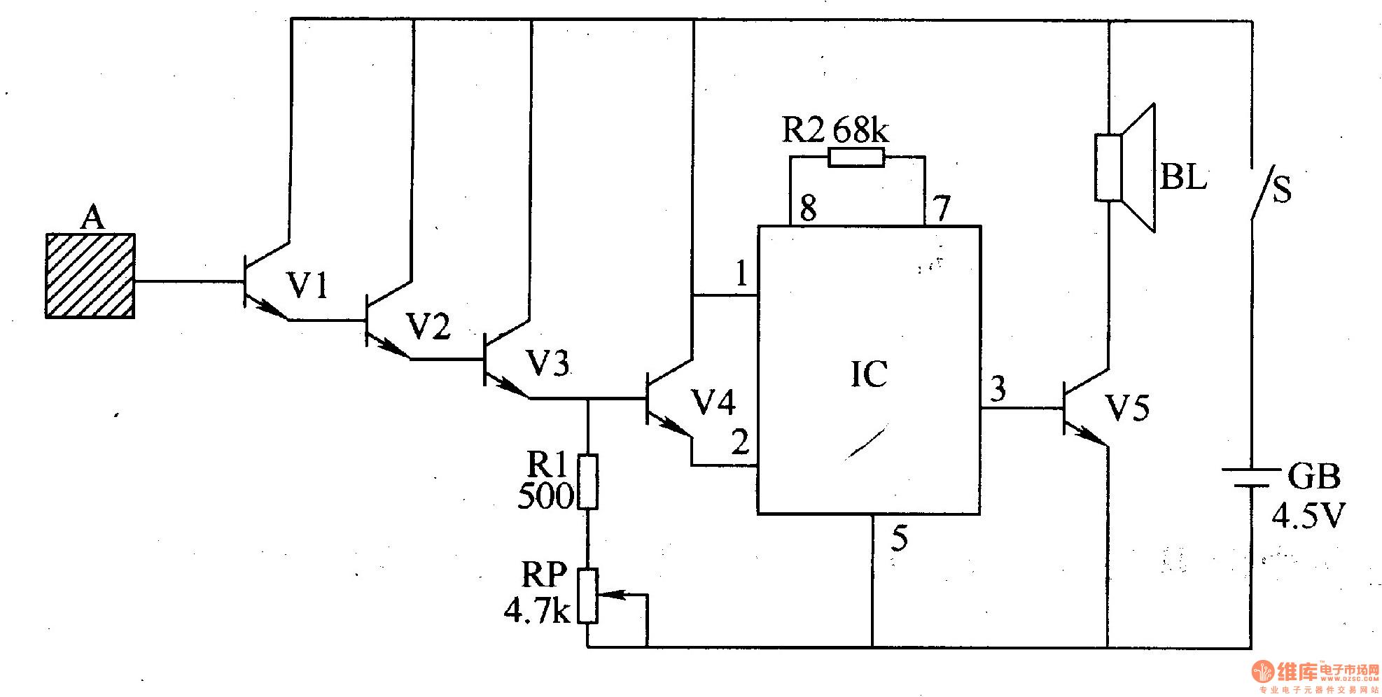 Musical Doorbell Circuit Amp Easy Create Music By Um66t Sc