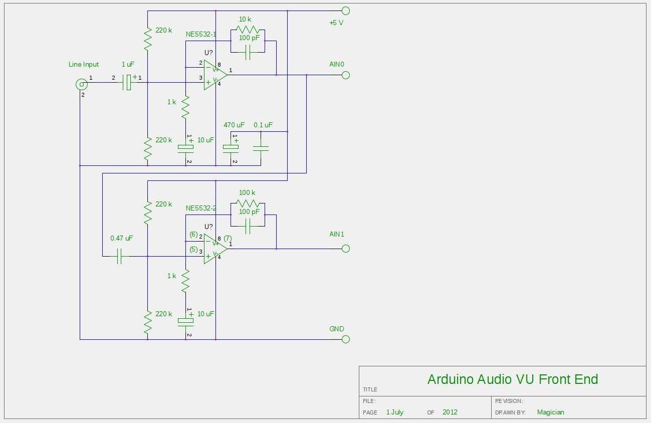 Vu Meter Circuit Page 2 Meter Counter Circuits Next