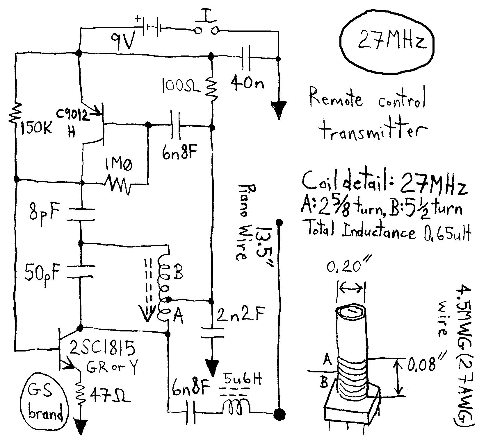 Gt Rf Gt Transmitters Gt Atv Jr Transmitter 440mhz Circuit L