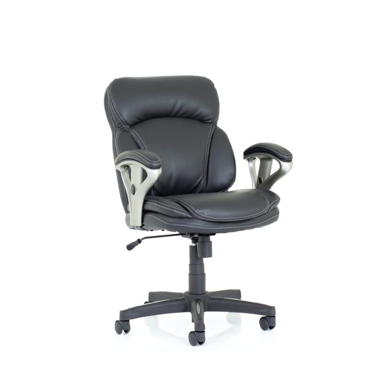 Photon Black Bonded Leather Executive Chair