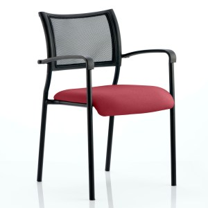 Brunswick Bespoke Colour Seat Black Frame Gingseng Chilli