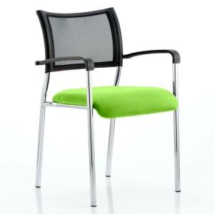 Brunswick Bespoke Colour Seat Chrome Frame Myrhh Green