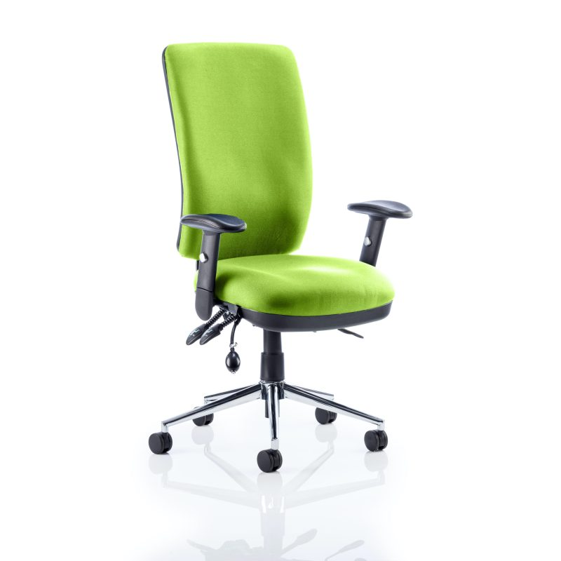 Chiro High Back Bespoke Colour Myrhh Green