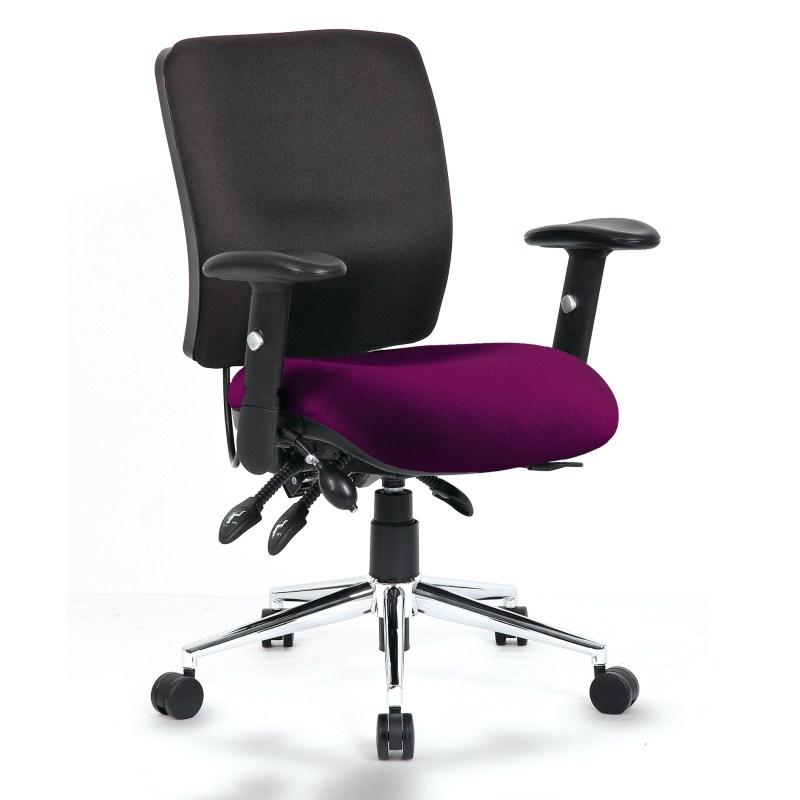 Chiro Medium Back Bespoke Colour Seat Tansy Purple