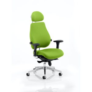 Chiro Plus Ultimate With Headrest Bespoke Colour Myrhh Green