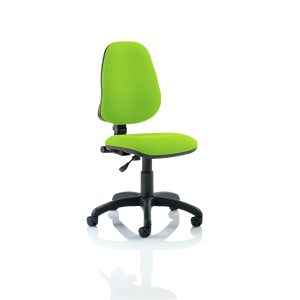 Eclipse I Lever Task Operator Chair Bespoke Colour Myrhh Green