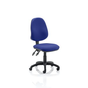 Eclipse II Lever Task Operator Chair Bespoke Colour Stevia Blue
