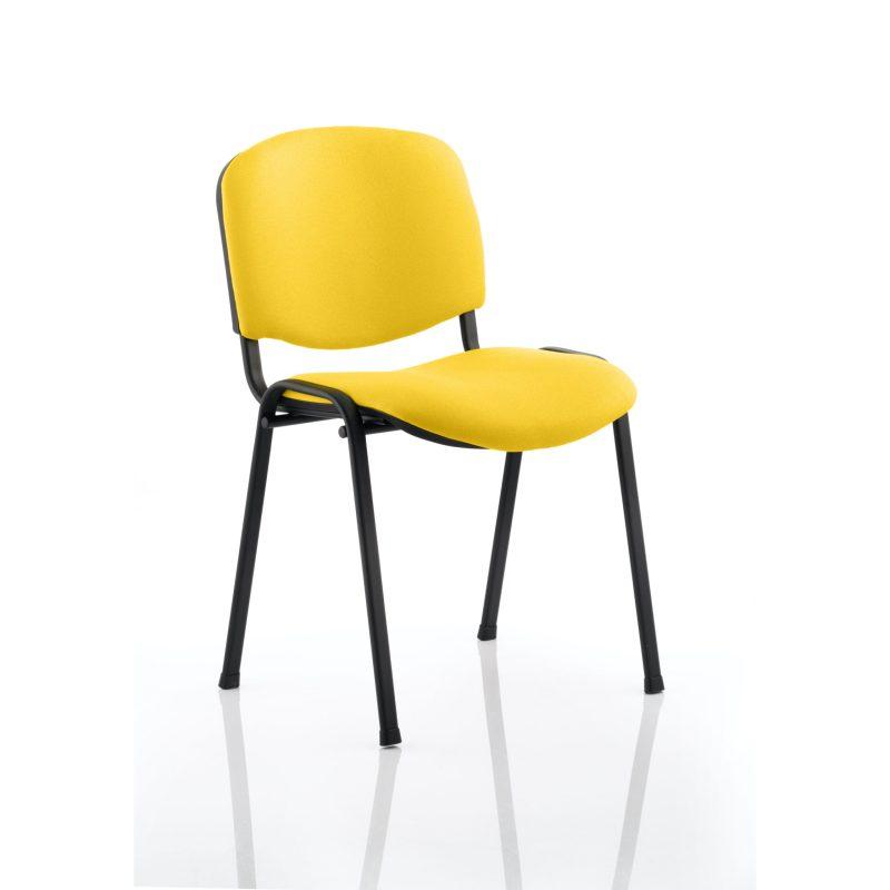 ISO Black Frame Bespoke Colour Fabric - (Min Order Qty X 4) Senna Yellow