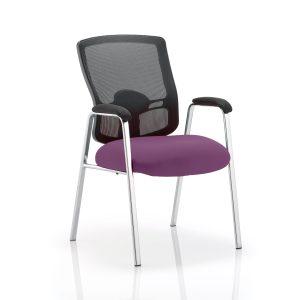 Portland Visitor (Straight Leg) Bespoke Colour Seat Tansy Purple