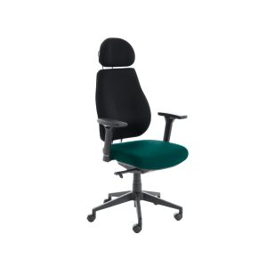 Chiro Plus Lite With Headrest Upholstered Seat Only Maringa Teal