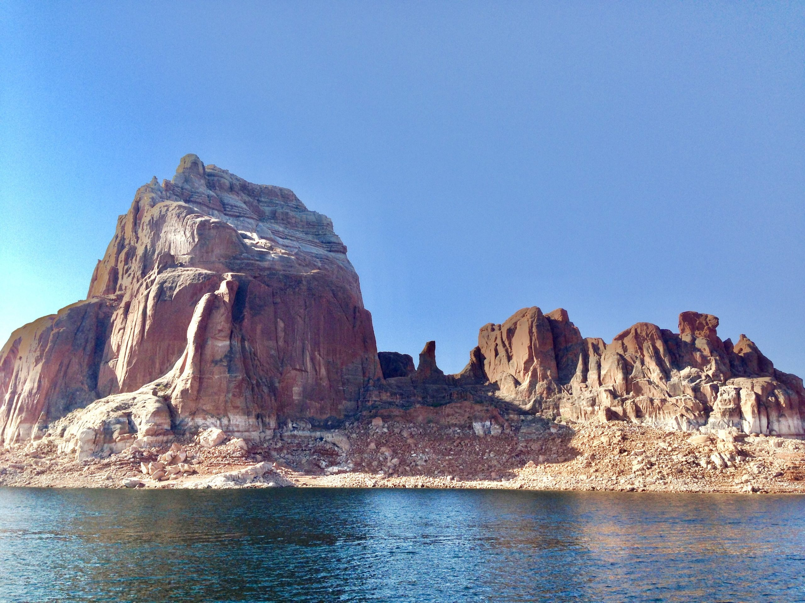 View from the Lake Powell Boat Tour
