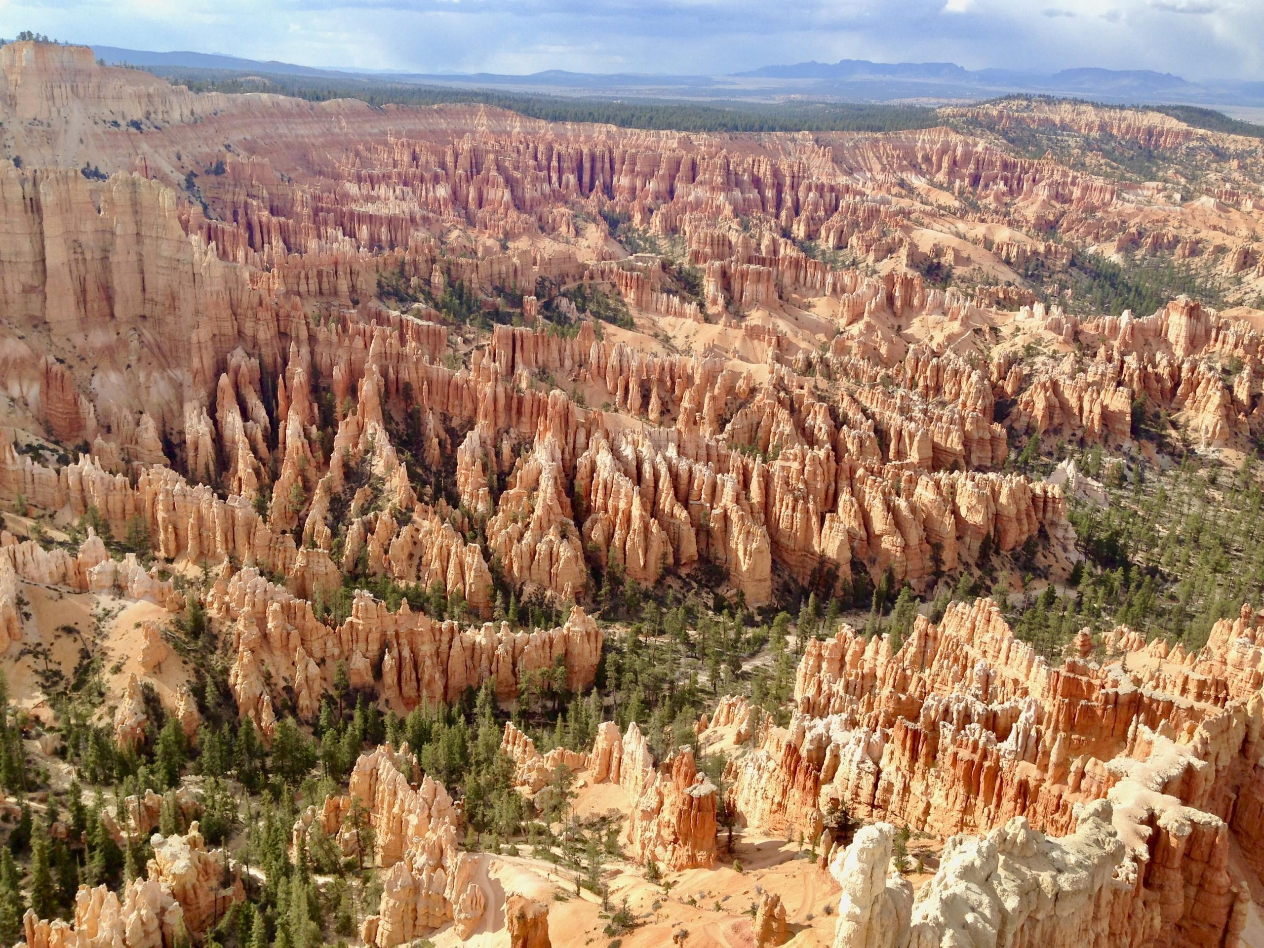 View of Bryce Canyon National Park in Utah