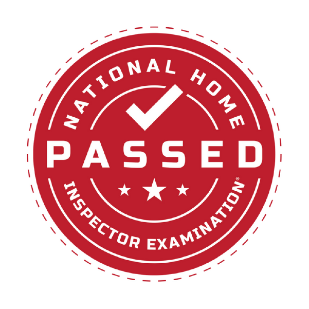 National Home Inspection - Passed