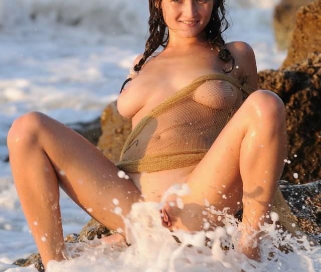 Nude Beach Erotic Photography Masturbation Amp Huge Squirt 1