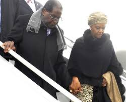 Grace Mugabe leaves S'Africa without assault charge