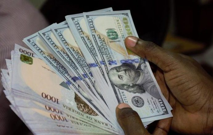 Naira loses 0.50 points against dollar