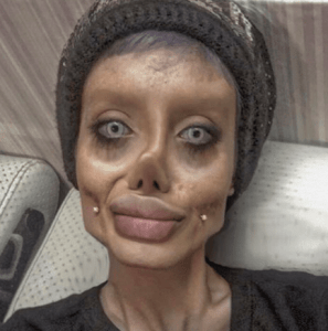 Angelina Jolie-inspired 'Corpse Bride' says she faked Instagram photos: 'This is Photoshop and makeup'