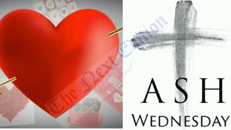 Like Ash Wednesday, Like Valentine's Day