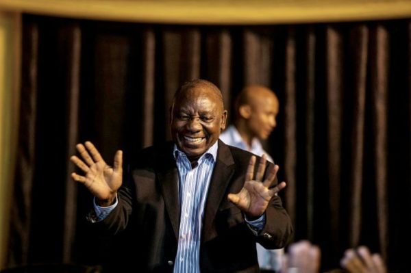 Cyril Ramaphosa is new South African president