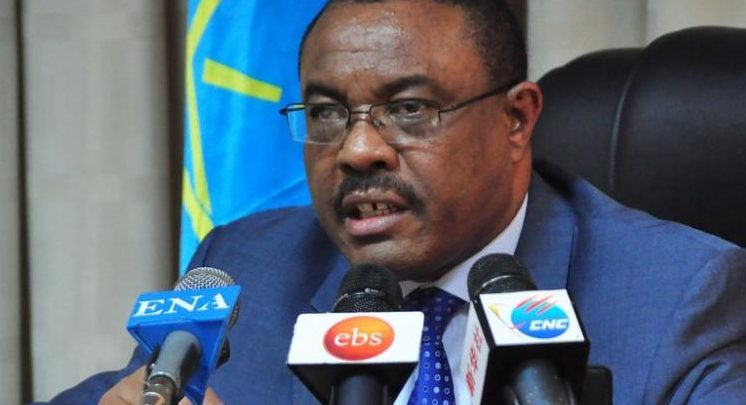 Ethiopian Prime Minister DEsalegn resigns