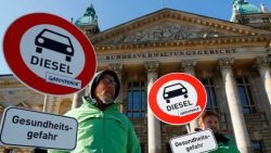 Pollution: German court bans diesel cars